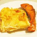 Lazac és francia burgonya (gratin)