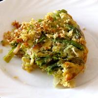 Zöld spárgás omlett – parasztreggeli