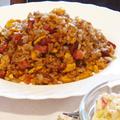 Szalonnás, tojásos sült rizs
