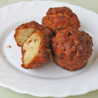 Sós muffin – pogácsa helyett