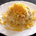 Kukoricasaláta rákízű rudakkal (szurimi)