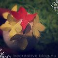 Virágos tojás dekoráció