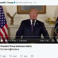 Trump támad és imádkozik