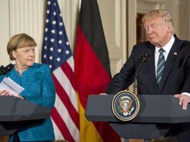 Merkelnek elege van az USA-ból
