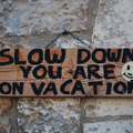 Slow down, you are on holiday - Puglia tartomány