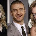 Madonna, Britney Spears és Justin Timberlake egy színpadon