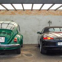 Porsche-futómű és -fék a Bogárba, aztán igazi Porsche