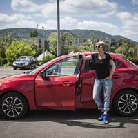 Csajteszten a Mazda 2