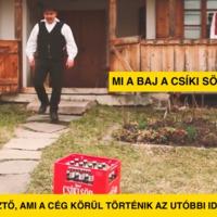 Mi a baj a Csíki Sörrel?