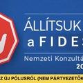 Még egyszer az új pólusról: állítsuk meg a Fideszt!