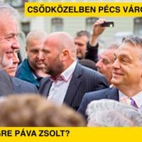 Csődközelben Pécs városa