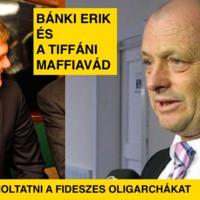 Bánki Erik és a tiffáni maffiavád