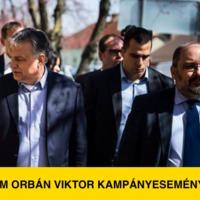Meghekkeltem Orbán Viktor kampányeseményét
