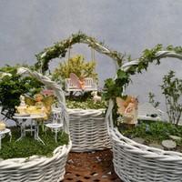 Húsvéti dekoráció - minikertek az asztalra, ajándékba vagy tojáskereséshez