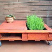Helytakarékos asztalka készítése a teraszra