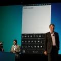 Megtanulja a felhasználót a BlackBerry 10 virtuális billentyűzete