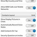 BB10-zel bezzeg van VoIP-hívás a mobilhálózatokon