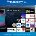 Pörögnek a zenék a BlackBerry Worldben