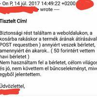 GÁTSZAKADÁS BKK ÉS T-SYSTEMS MÓDRA