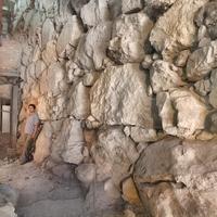 3700 éves falmaradvány a Gihon-forrásnál