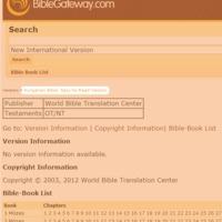 Egyszerű fordítású teljes Biblia már online is