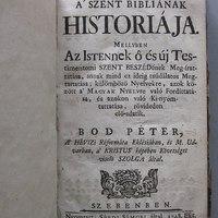 A' Szent Bibliának historiája 1748