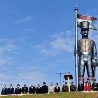 A legnagyobb méretű köztéri szobor felavatása
