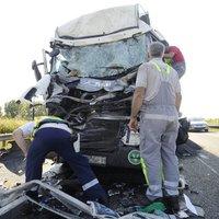 Brutális baleset történt az autópályán