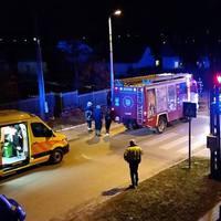 Három sérült az Apponyi-Batthyány utcák sarkán történt balesetben