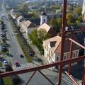 Imre atya fényképezővel ment fel a bicskei templomtorony keresztjéhez - 11 fotó