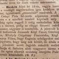 Friss a bicskei hír, ami 144 éves - Csuszabál Bicskén és sárba-tiport lopott kalapok az itteni vásár után