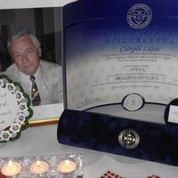 Lali bácsi Aranydiplomáját családja vette át