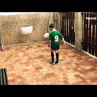 Kilencszáznegyvenet dekázik a Fradi hétéves labdarúgója