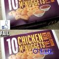 10 csirke nuggets, vagy nem?