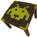 Space invaders asztal