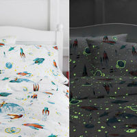Csillagos foszforeszkálós ágynemű