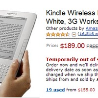 Amazon Kindle: out of stock