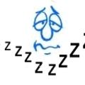 Nyolc órányi alvás három óra alatt