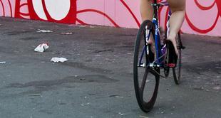 Szexi lányok a bringán: girls on bike project