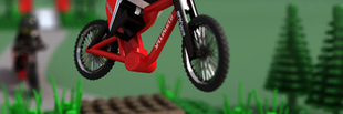 Downhill verseny a szőnyegen!