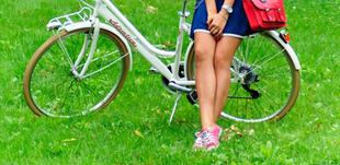 A kerékpáros sajtó szépe