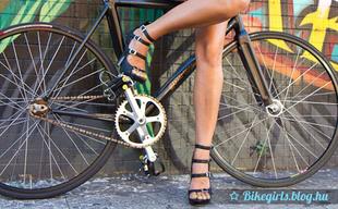 Nem csak a bringa figyelemreméltó!