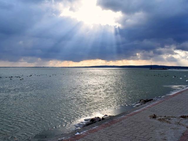 Fotózás a Balatonnál