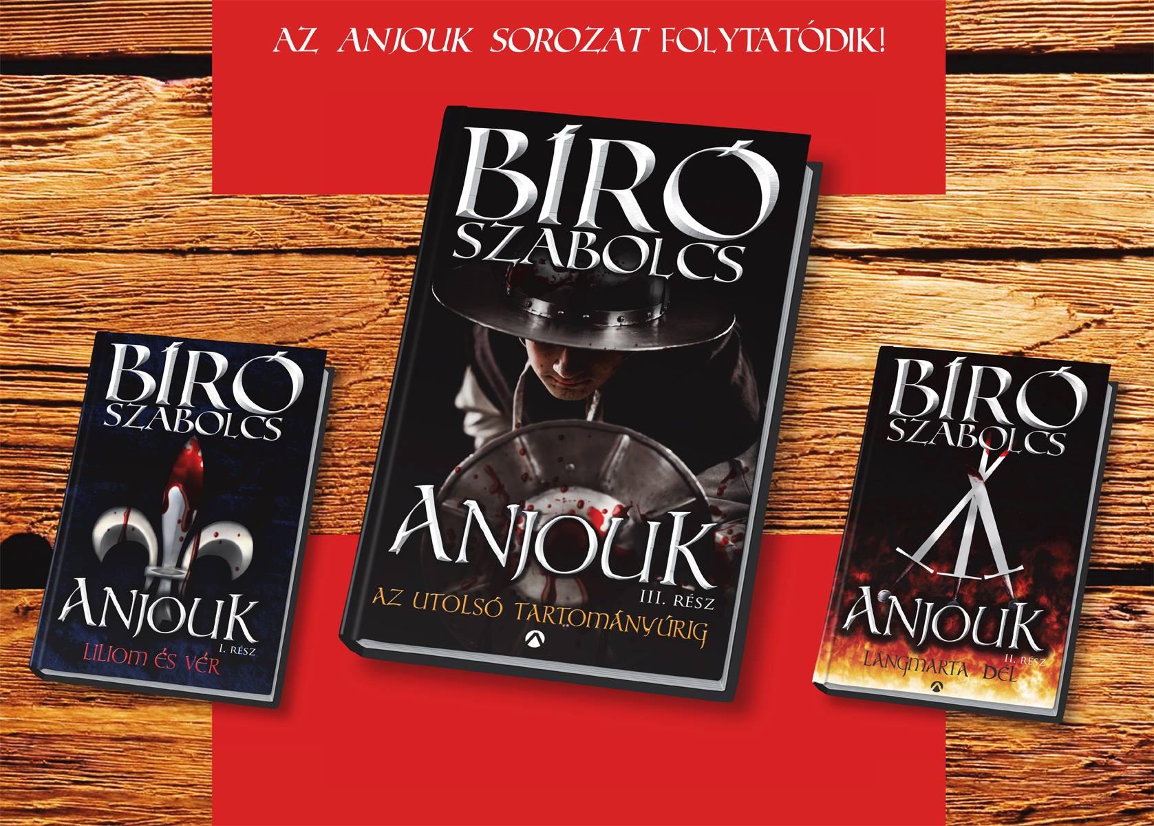 Trilógiává bővült az Anjouk!