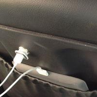 USB töltő a kocsiülésben