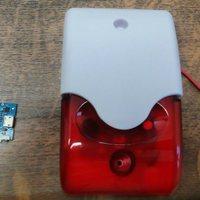 Projekt 7a: Wifi-s hang- és fényjelző (sziréna)