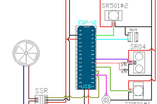 Projekt 6: ESP8266 szenzor jelenlétérzékeléssel (Disturbia)