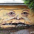 Király falfestés - A ház arca
