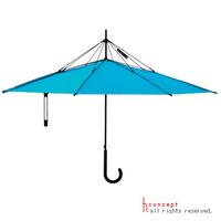 Kifordított esernyő