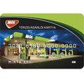 MOL törzsvásárlói kártya